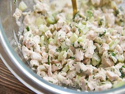 BYO Chicken Salad Sandwich - Hot Image