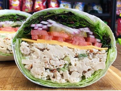No Carb Chicken Salad - Hot Image