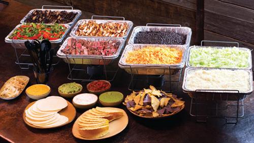 Taco/Burrito Bar Image