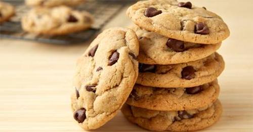 Homemade Chocolate Chip Cookies Image
