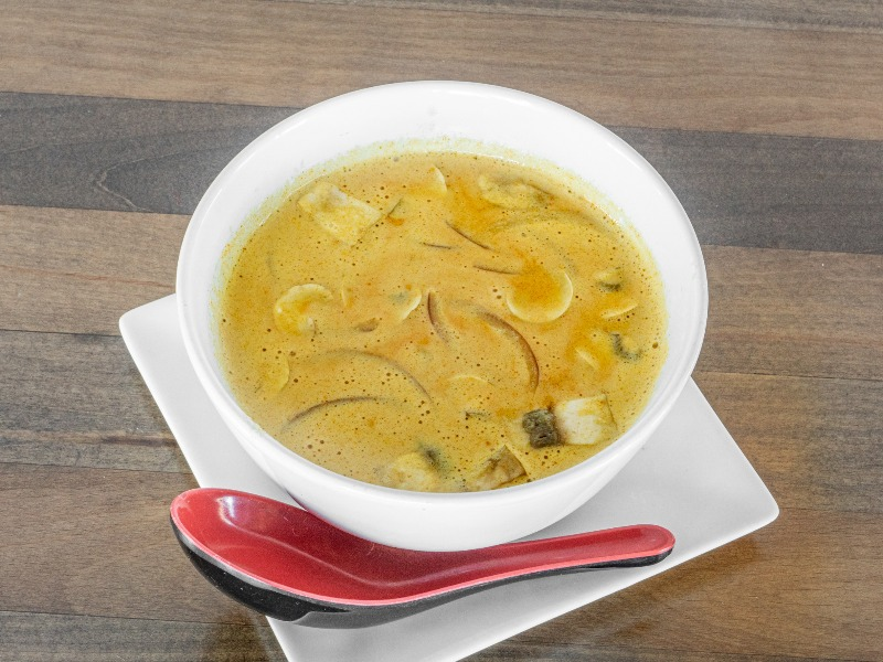 Coconut Infused Curry Soup