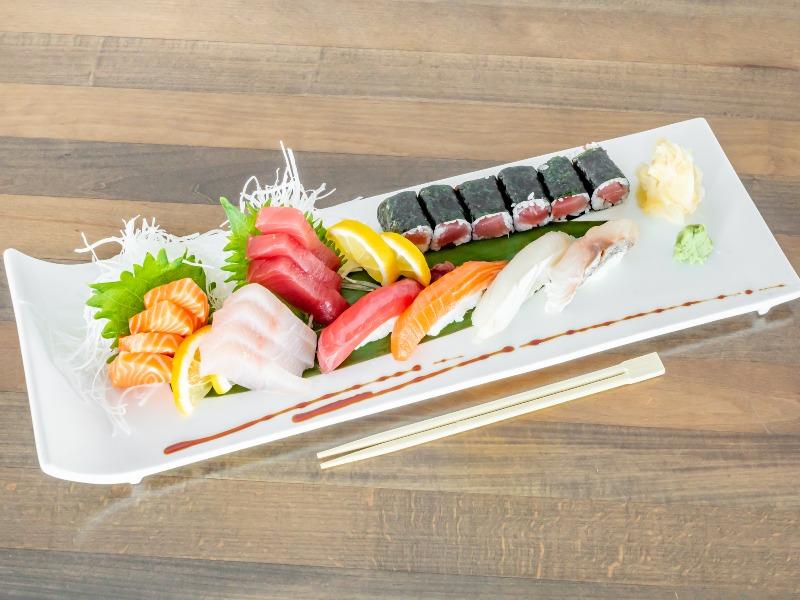 Miyabi Sushi & Sashimi Combo Entree Image