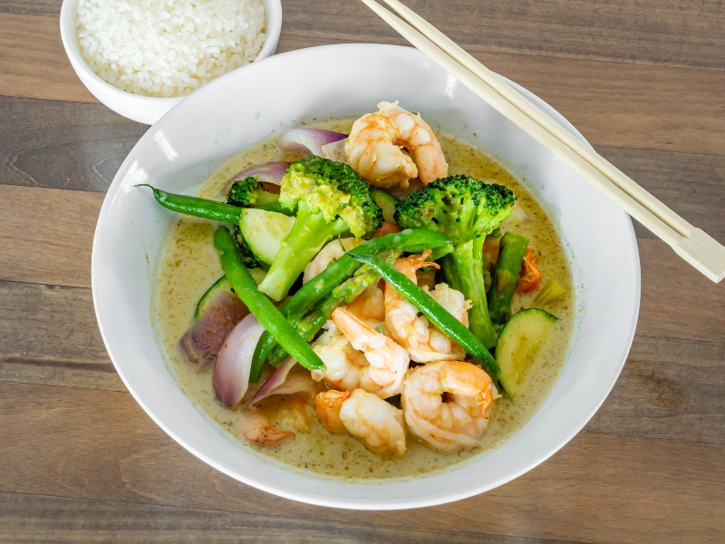 Thai Green Curry Image