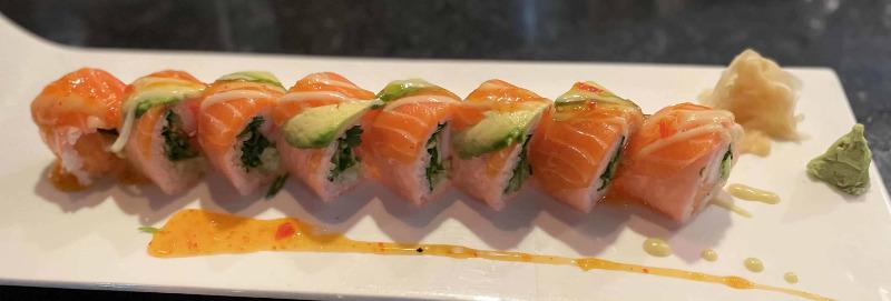 Angry Salmon Roll Image