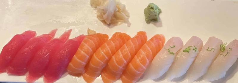 Miyabi Tri Color Sushi Entree Image