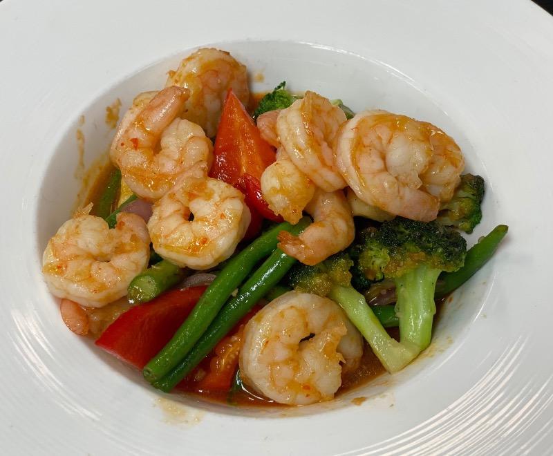 Spicy Key Lime Shrimp Image