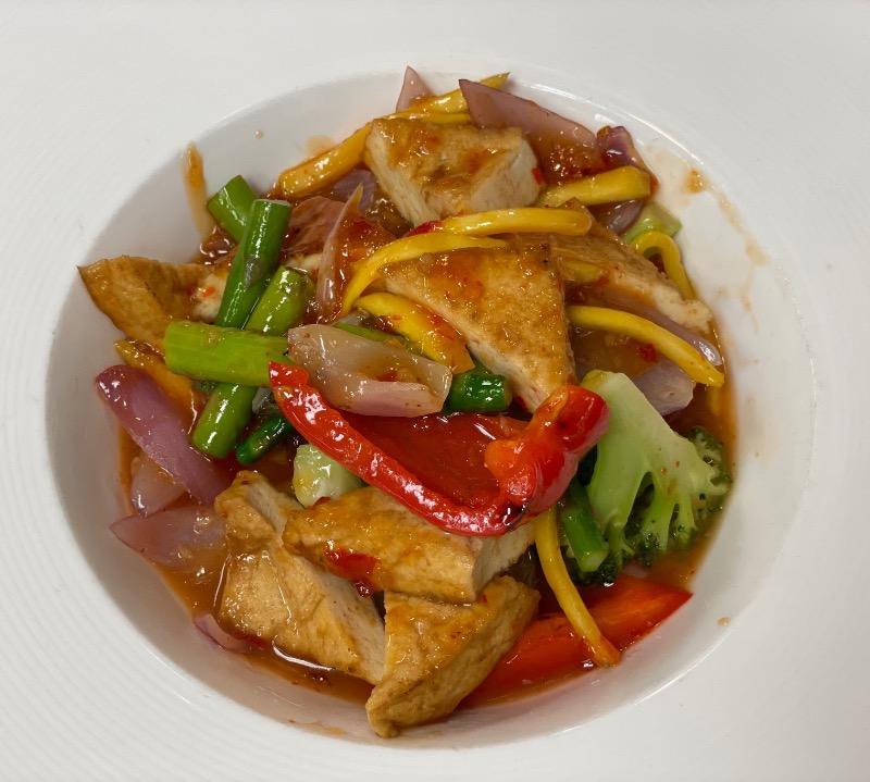 Mango w. Thai Chili Sauce Image