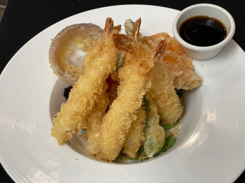 Shrimp & Veg. Tempura Dinner Image