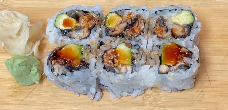 Eel & Avocado Roll Image