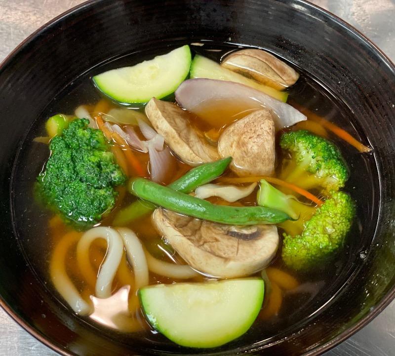 Vegetable Udon Noodle Soup Image