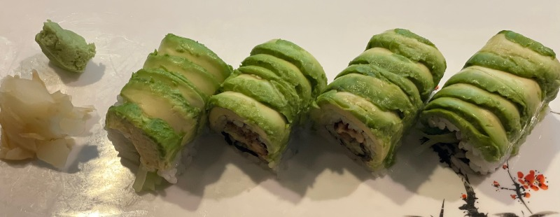 Green Dragon Roll Image