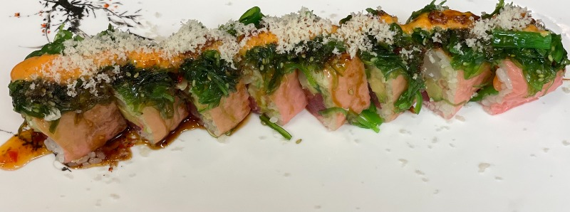 Pink Mountain Roll Image