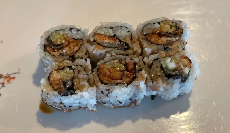 Eel & Cucumber Roll