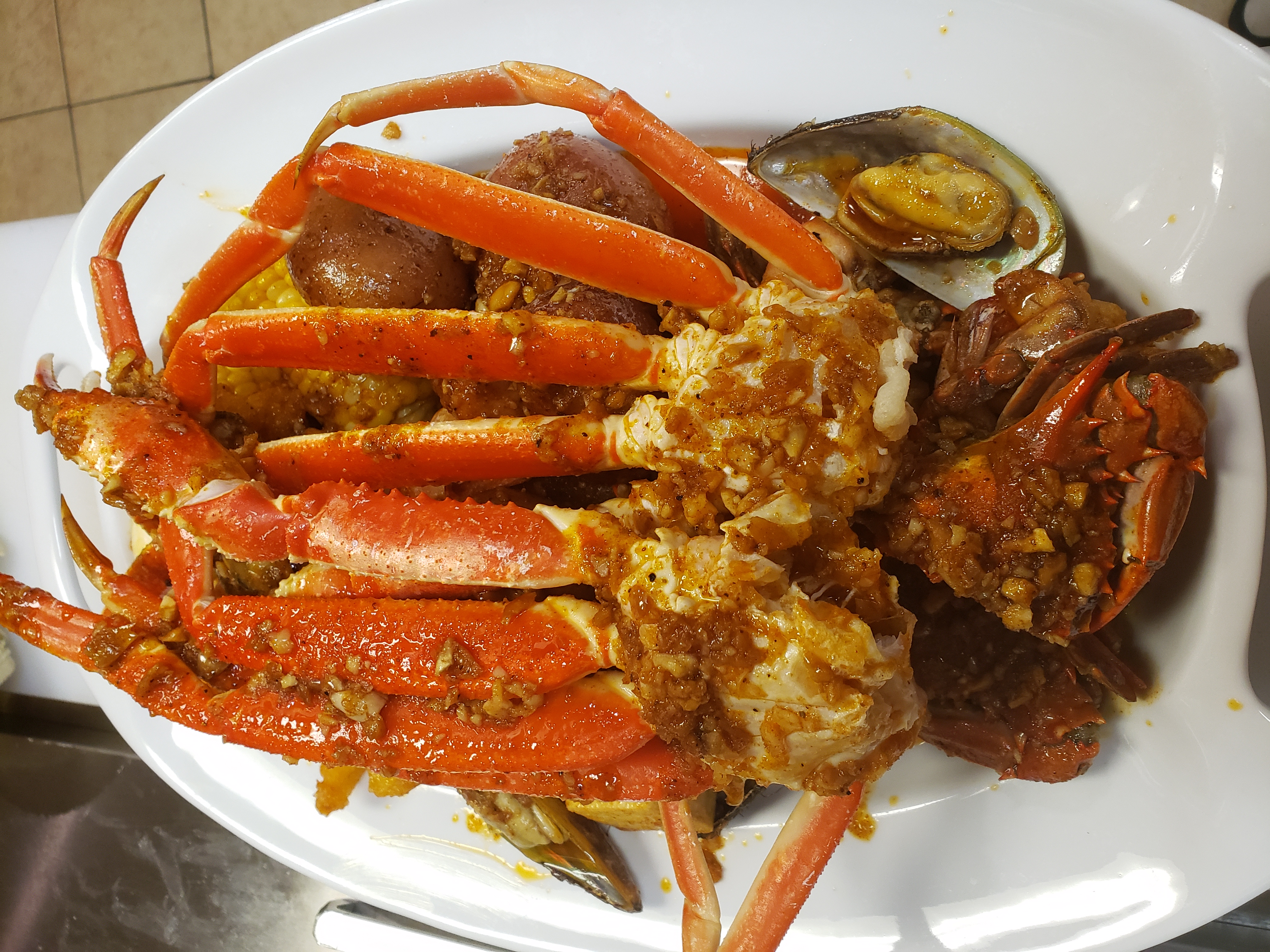 Seafood Boil Combo