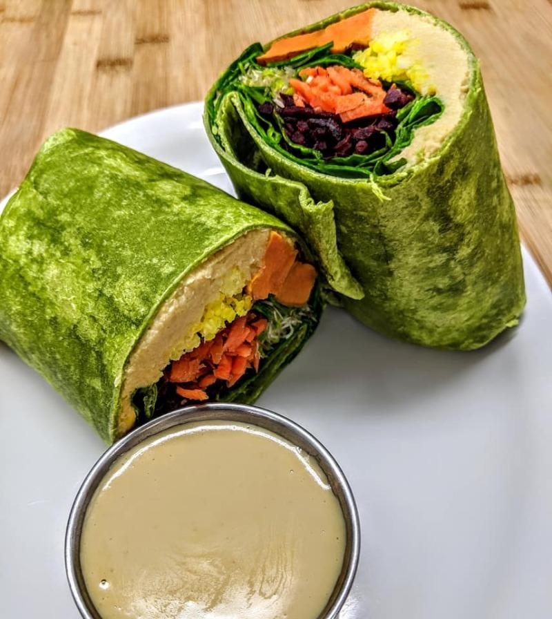 Hummus Glory Wrap Image