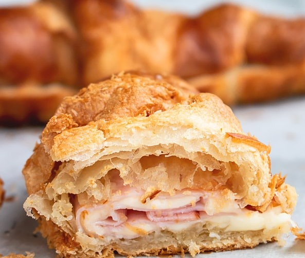 Ham and Cheese Croissant Image