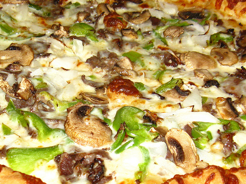 Philly Steak Pizza Image