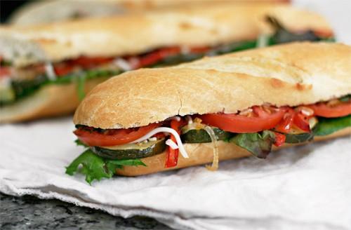 The Veggie Sandwich Image