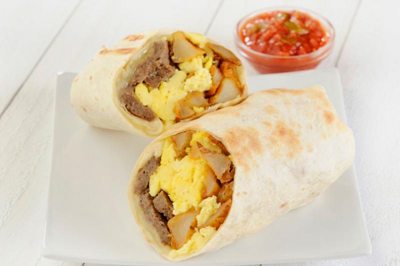 Breakfast Burrito Tray Image