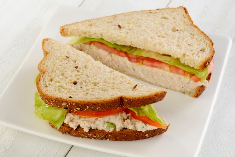 Signature Tuna Salad Sandwich Image