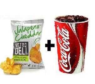Add Chips & Drink Image