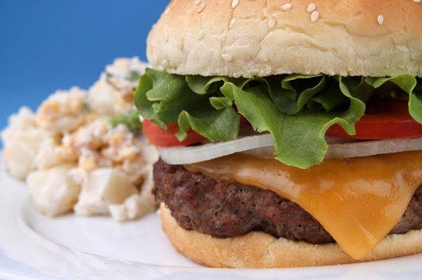 Hamburger Buffet Image