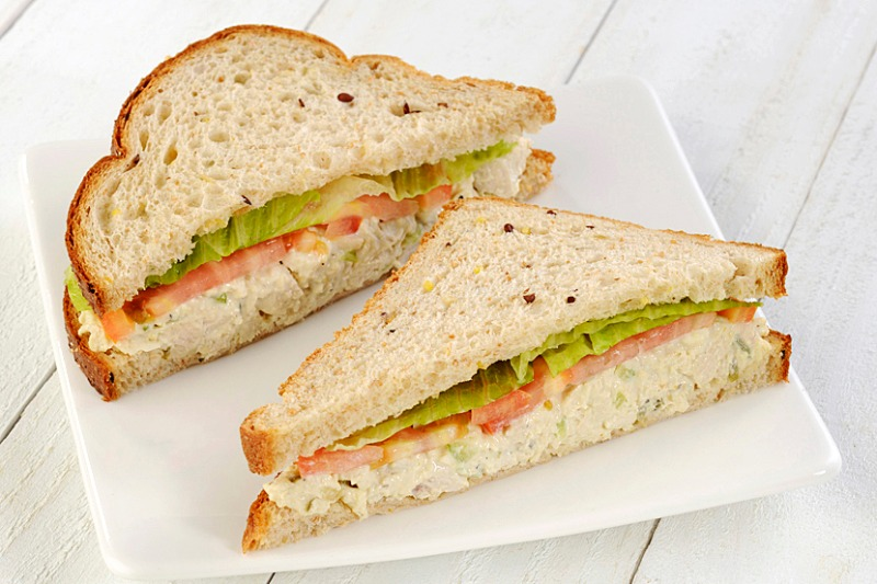Chicken Salad Sandwich Image