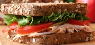 All Natural Turkey Sandwich