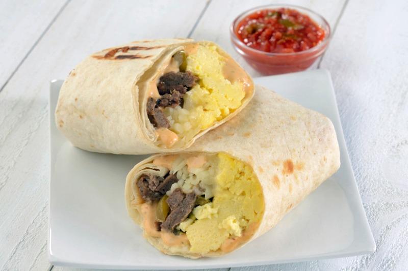 Santa Fe Breakfast Burrito