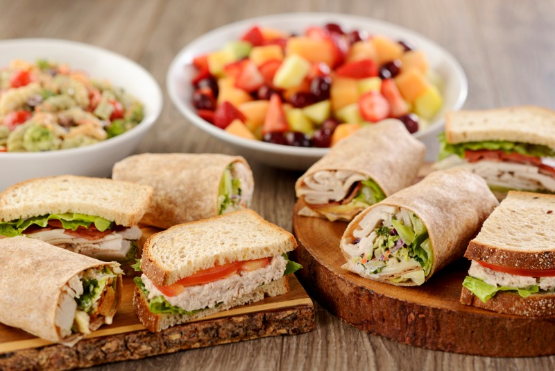 Wrap & Side Boxed Lunch Image