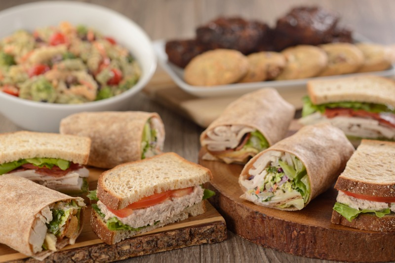 Sandwich/Wrap & Salad Package Image