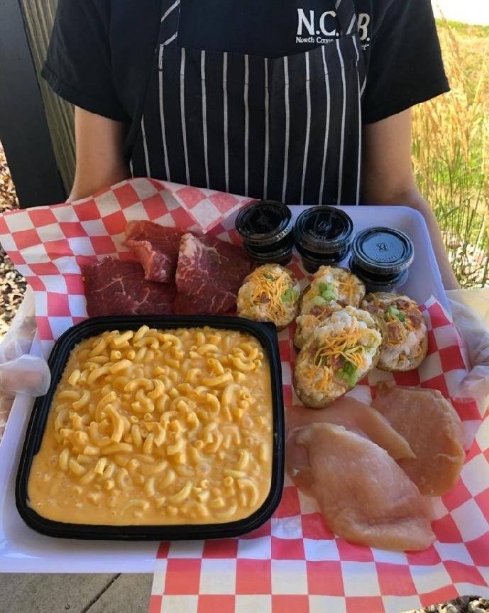 Steak, Chicken & Pork Chop Meal $39 +tax Image