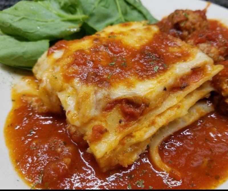 Full Pan of Lasagna Image