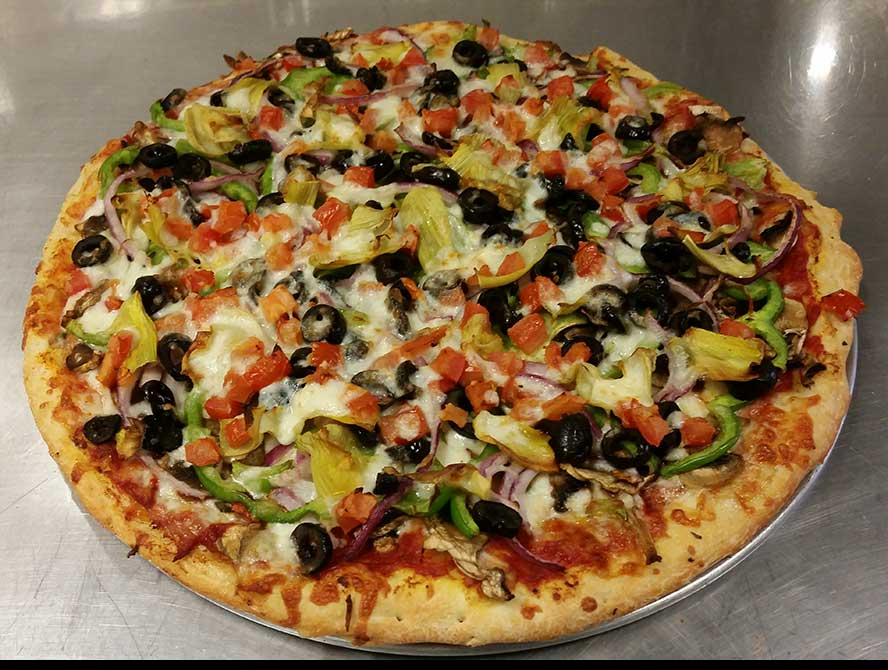 Oregon (Vegetarian Pizza) Image