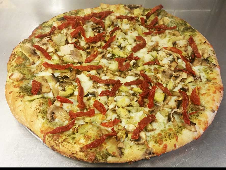 California (Chicken & Artichoke Pizza) Image