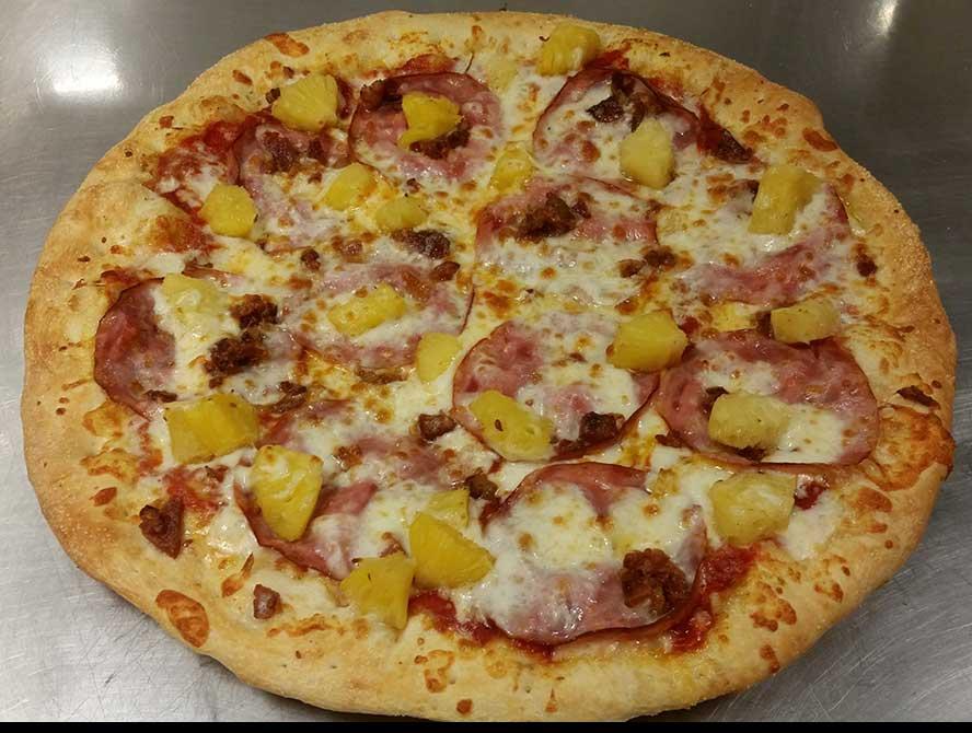 Hawaii (Canadian Bacon & Pineapple Pizza) Image