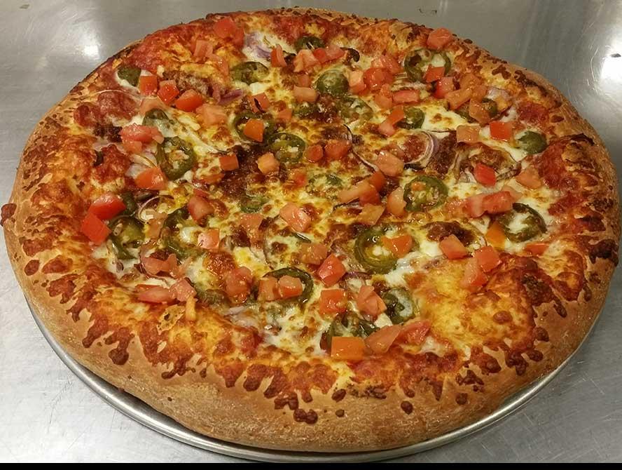 New Mexico (Chorizo & Jalapeno Pizza) Image