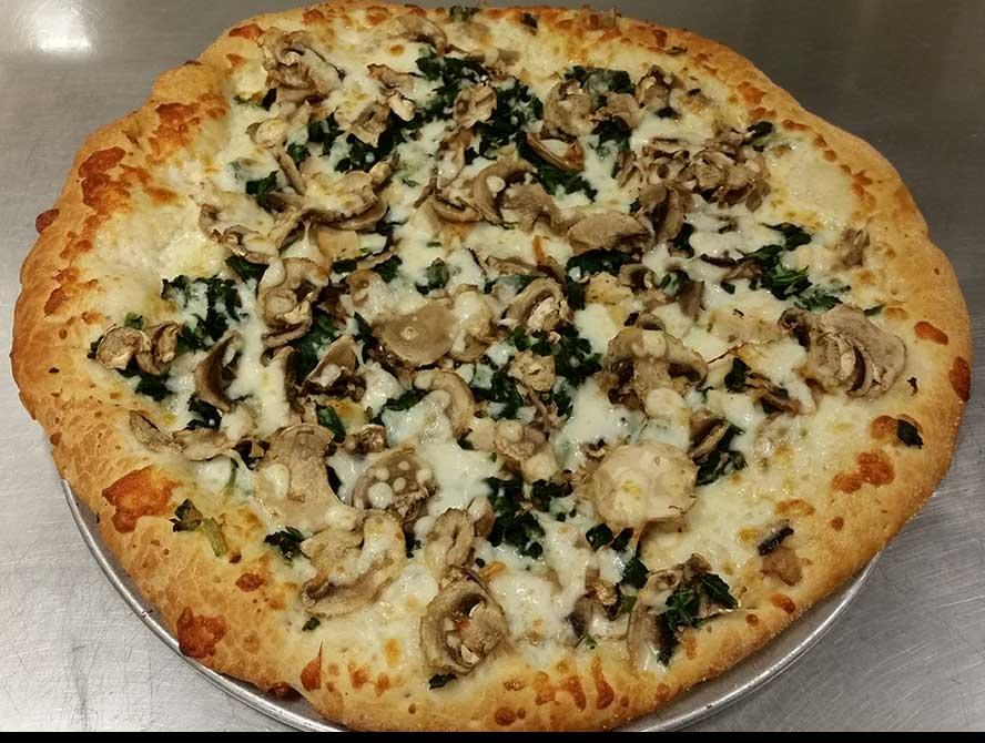 New Jersey (Chicken Florentine Pizza) Image
