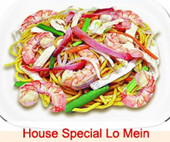 39b. Curry Vegetable Lo Mein Image