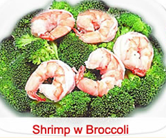 87. Shrimp w. Broccoli Image