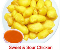 43. Sweet & Sour Chicken