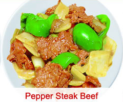 59. Pepper Steak