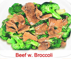 60. Beef w. Broccoli Image