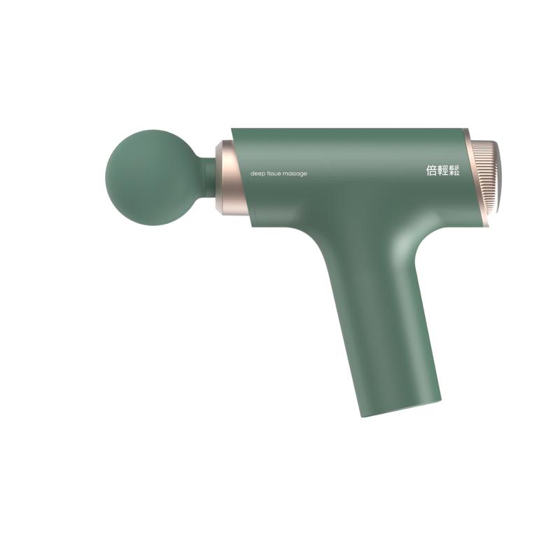 Breo Mini Massage Gun Percussive Therapy Treatment Green 1 Piece
