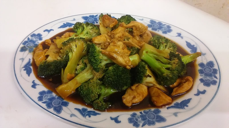 36. Chicken w. Broccoli