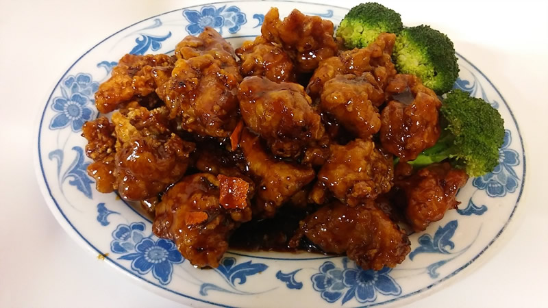 C17. Orange Flavor Chicken Image