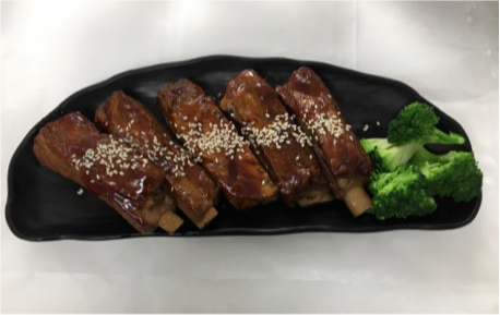 Honey BBQ Spare Ribs Image