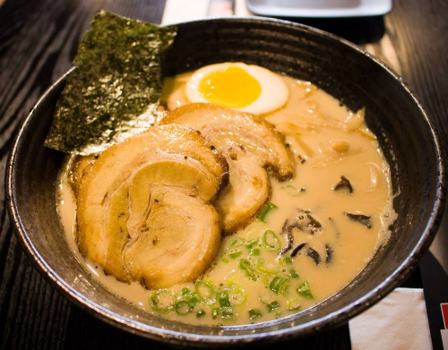 Japanese Roast Pork Ramen Bowl Image