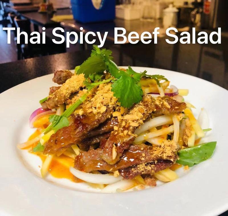 Thai Spicy Beef Salad Image
