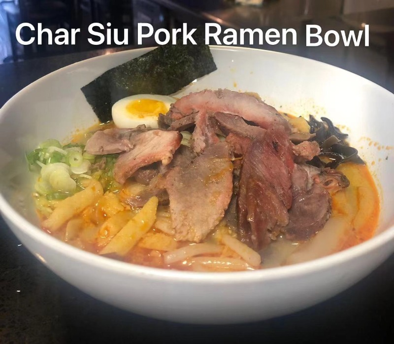 R3. Char Siu Pork Ramen Bowl